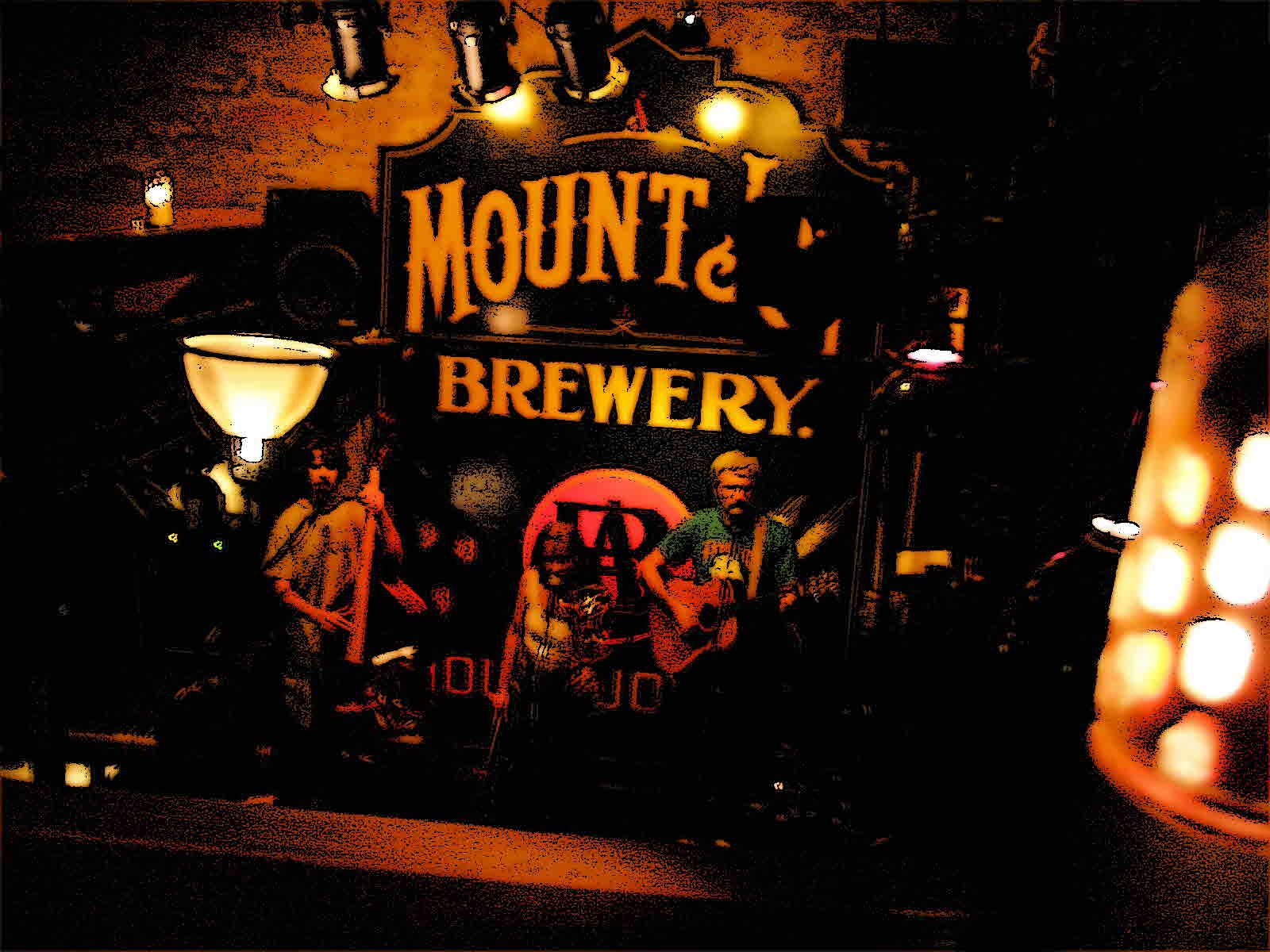 Modern Icons Band at Bube's Brewery